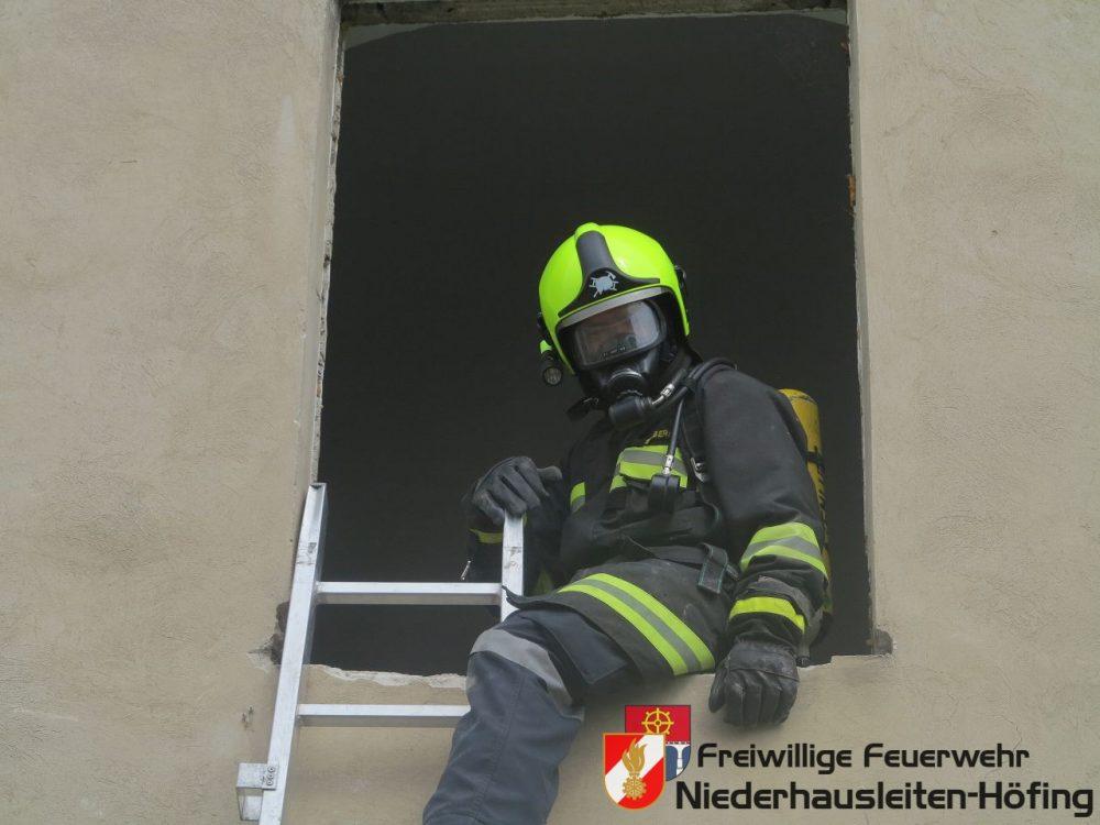Atemschutzschulung im FF-Haus