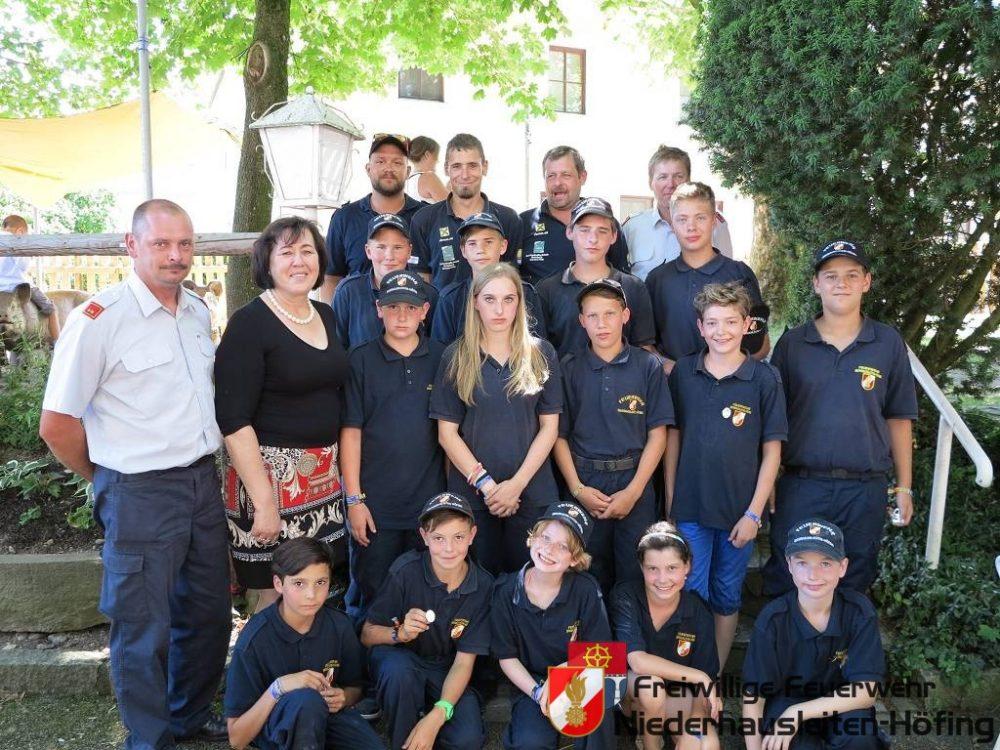 Landeslager der Feuerwehrjugend in Amstetten