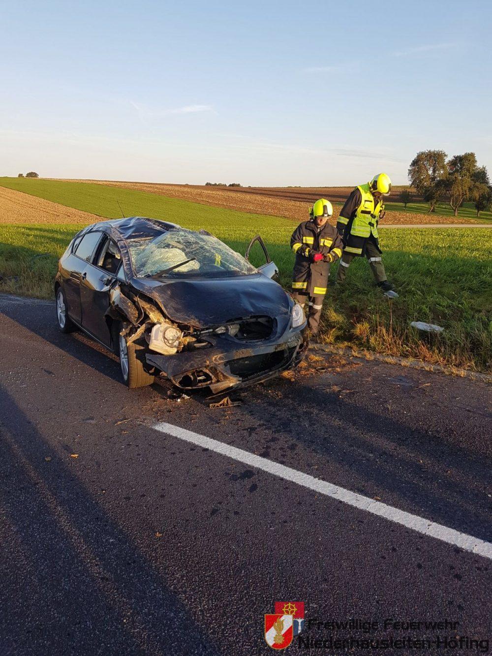 Verkehrsunfall in Wollmersdorf