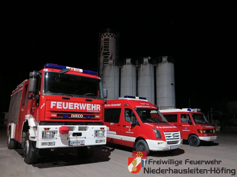 Betriebsbesichtigung Fa. Riedler Kies & Bau