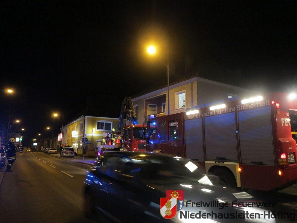 Kaminbrand bei Wohnhaus in Kematen/Ybbs