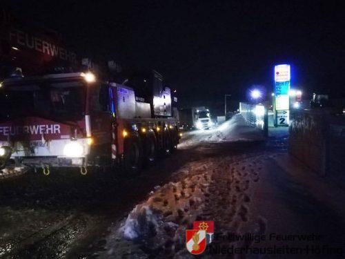 Mehrere Einsätze nach Schneefall