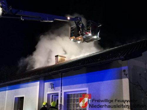 Wohnhausbrand in Aschbach