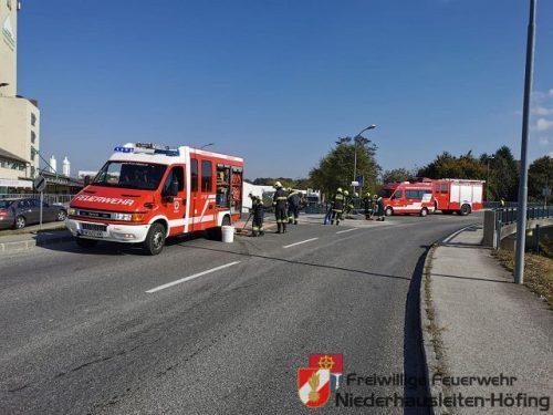 Verkehrsunfall auf der B122 in Aschbach